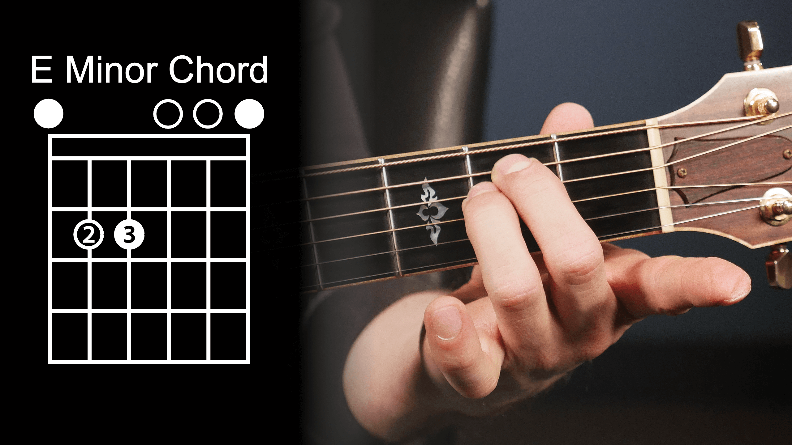 Play 10 songs with 4 chords free guitar lessons e minor chord diagram hexwebz Choice Image