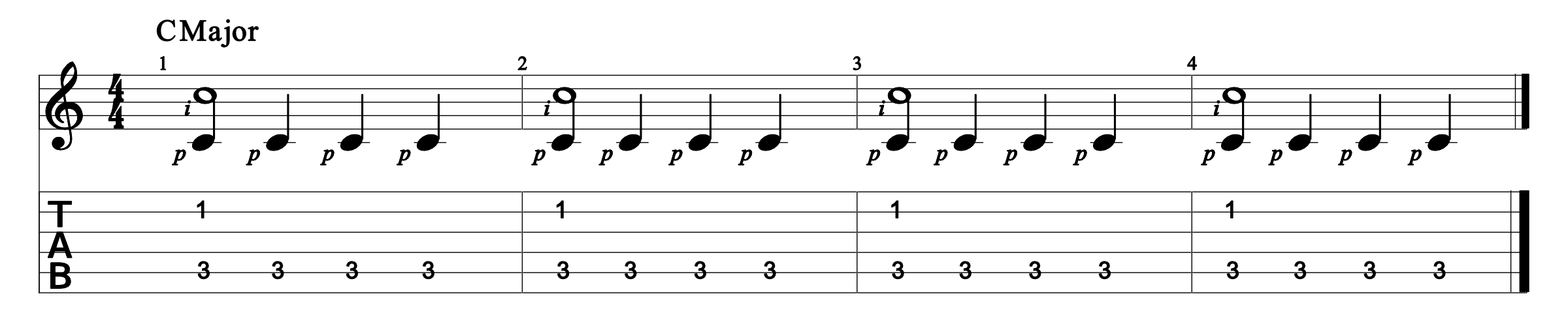 Constant Bass Exercise 2