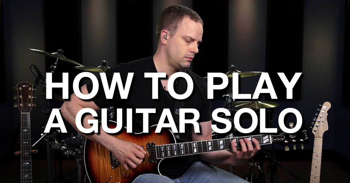 how to play a guitar solo lead guitar lessons. Black Bedroom Furniture Sets. Home Design Ideas