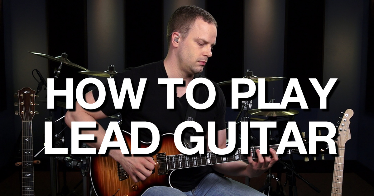 how to play lead on acoustic guitar