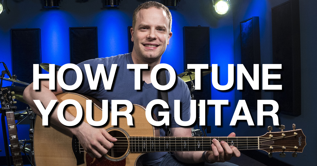 how to tune your guitar beginner guitar lessons. Black Bedroom Furniture Sets. Home Design Ideas